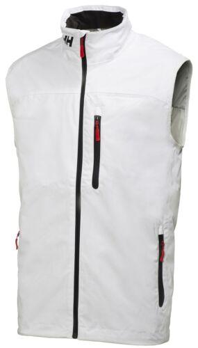 Helly Hansen Crew Midlayer Vest Gilet 30341//001 White NEW