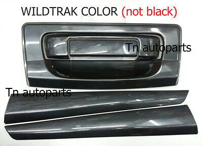 FITT DOOR HANDLE INSERT DOUBLE CAB COVER TRIM FOR FORD RANGER XLT T6 MC 2012-ON