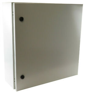 Details about YuCo YC-24X16X10-UL-FE Nema Type 4 Enclosure with 2mm Back  Plate 24