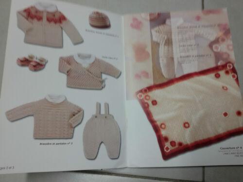 Catalogue tricot  bouton d/'or  layette et enfants n° 17 H