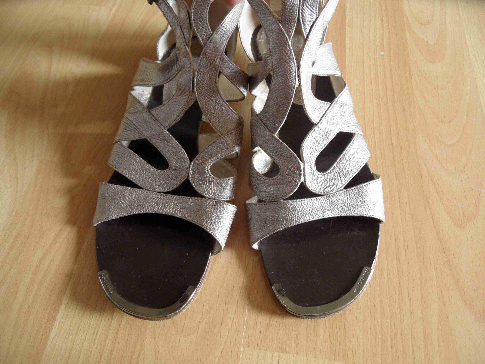 BALDAN Italy Italy Italy Haute  s Romains  s Taupe metallic Taille 40/41top 615 73d715