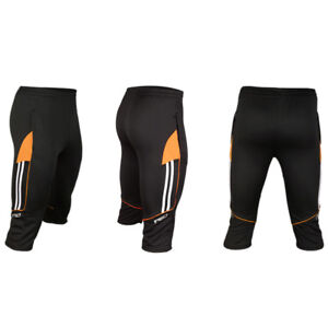 Men/'s Soccer Football Athletic Training Track 3//4 3-Quater Shorts Pants Trousers