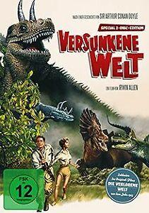 Versunkene-Welt-The-Lost-World-2-DVDs-DVD-Zustand-gut