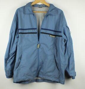 Vintage-90s-Nike-Windbreaker-Jacket-Youth-Womens-Size-XL-Blue-Rare-Logo