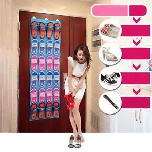 24-Pockets-Over-the-Door-Shoe-Organizer-Rack-Hanging-Storage-Space-Saver-Hanger