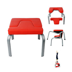 yoga inversion chair headstand bench exercise tool fitness