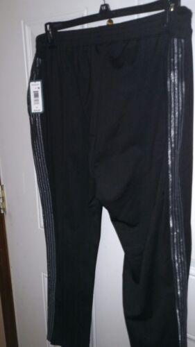 NEW Mens MTA  XL Track Pants Black   1XL