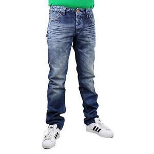 CIPO-amp-BAXX-c-1047-Jeans-homme-use-style-pantalon-couleur-bleue-13833