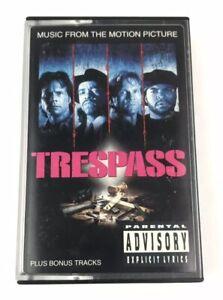 Trespass Original Soundtrack Parental Advisory Ice T Ice Cube Cassette Tape