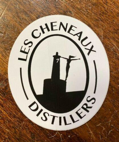 Les Cheneaux Distillers Craft Liquor Sticker Decal Upper Peninsula Michigan