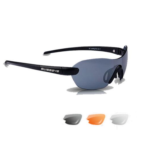 Etui Swiss Eye Horizon Sonnenbrille Radbrille Sportbrille Wechselgläser