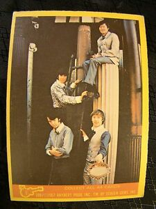 Vintage The Monkees Raybert Trading Card 1967 14 B All 4 Guys Standing TV Show