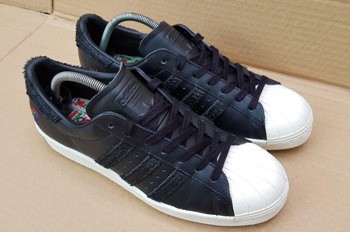 Raro Adidas Superstar CNY Año del Gallo Tenis De Reino Entrenamiento Talla 5.5 Reino De Unido Excelente  4ba0b8