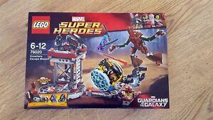 Lego Gardiens De La Galaxie 76020 Knowhere Escape Mission