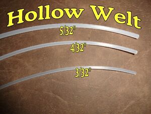Hollow Pvc Welt Cording Piping 3 32 4 32 5 32 Upholstery 10