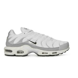 Details about Mens NIKE AIR MAX PLUS White Trainers 852630 107