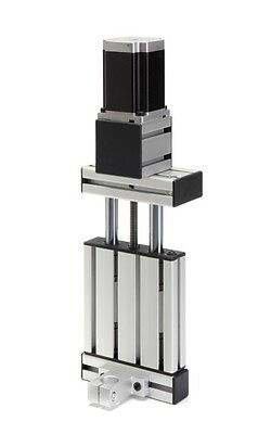 NEMA23 75mm Stroke Z Axis CHROME + Proxxon CNC