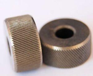 Pair 5//8 Diameter HSS zigrinature Medium kn05 Lathe Tool Diamond 3//8 wide