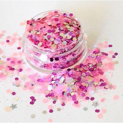 Beautiful Cosmetic Festival Glitter Prom Queen