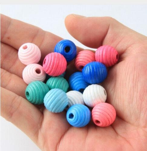 Perle enfants tétine Chaînes bricolage résistent Coloré 50st