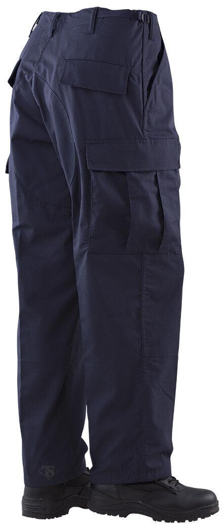 Tru-Spec Gen 1 Police BDU Pants 65 35 Poly Cotton RS NAVY