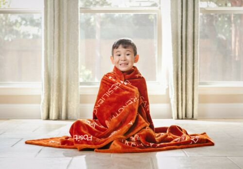 Chanasya Cozy Soft Warm Hugs Positive Energy Healing Support Throw Blanket Gift