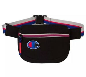 28c4837e886 Image is loading NEW-CHAMPION-The-ATTRIBUTE-Waist-Bag-in-Black-