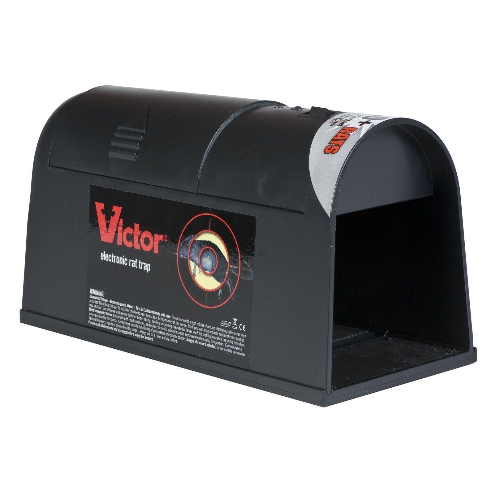Victor electrónico Trampa de Rata-M240 control de plagas no táctil reutilizable de la batería