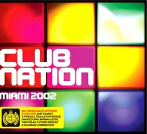 CLUB-NATION-MIAMI-2002-various-2X-CD-mixed-Ministry-of-Sound-trance-house