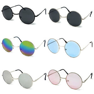 7c30ea02000f2 Image is loading Wholesale-Round-Lens-Sunglasses-Mens-Womens-Bulk-Ozzy-