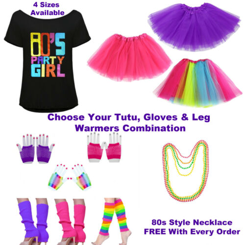 80s Fancy Dress OutfitWomens Ladies 1980s Costumes1980s Top Tutu|Hen Party