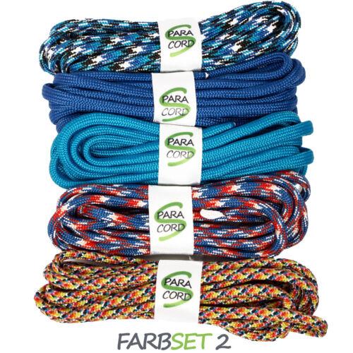 Paracord starterset bracelets Farbset 2-5x Bandes Et Boucle