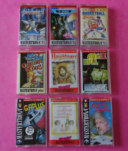Commodore-64-C64-COLLECTION-of-MASTERTRONIC-GAMES