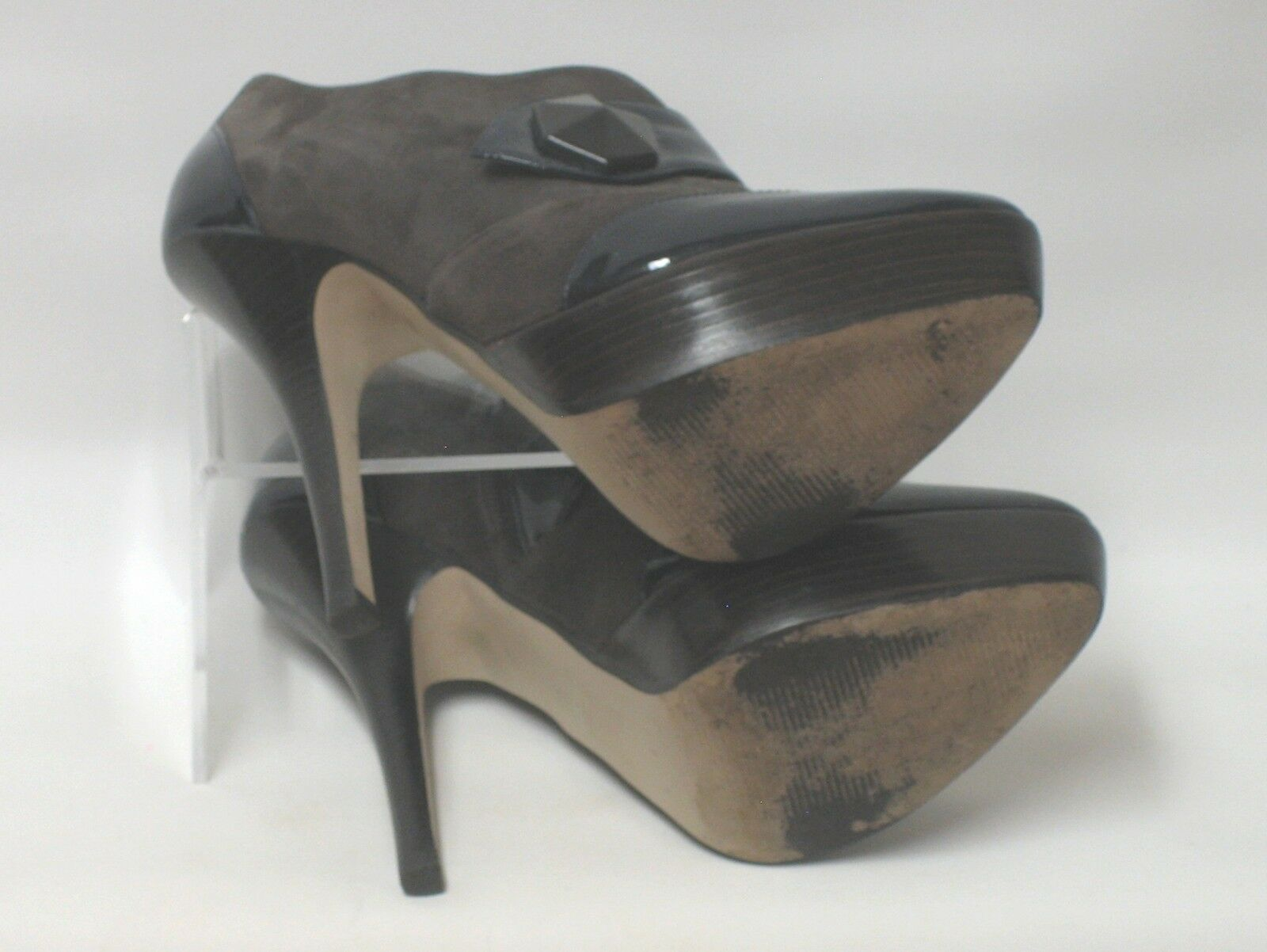 CARVELA KURT High GEIGER Leder Suede Very High KURT Stiletto Heel Schuhe Stiefel UK 6.5 8ee405