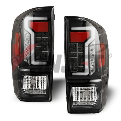 OE Factory Fit For 16-19 Toyota Tacoma LED Brake Light Bar Tail Lights Clear