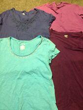 Lot 4 Shirts Size Medium ANA Lands End St John's Bay Bobbie Brooks