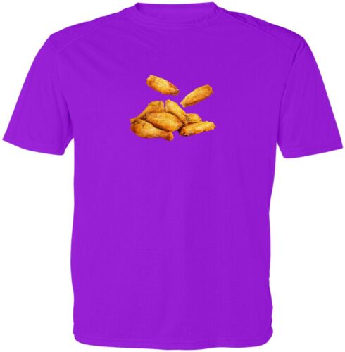 Fresh Hot Fire Chicken Wings Funny Unisex Kid Girl Boy Youth Graphics T-Shirt