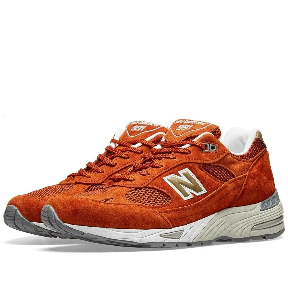 New Balance M991SE  Eastern Spices Pack  - Made in England Ginger & White Zapati