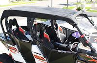2015 Can Am Maverick Max 1000 Black Utv Soft Top Roof Shade Cover C4