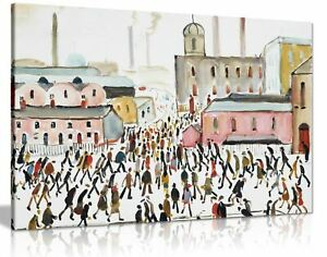L-S-Lowry-Collection-Painting-Canvas-Print-Wall-Art-Picture-Home-Decor