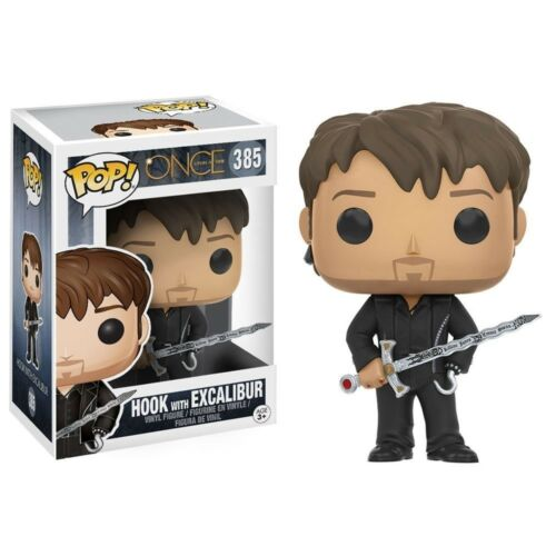 POP TV: Once Upon A Time w//Excalibur Hook Vinyl Action Figure New Funko