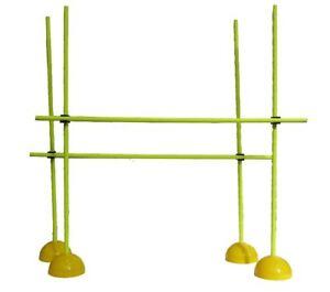 DernièRe Collection De Multi Kit D'entraînement (jaune) Set Agilité Vitesse Entrainement Xlr Chien Fitness Cone Hoop-afficher Le Titre D'origine