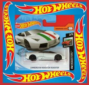 Hot-Wheels-2019-Lamborghini-reventon-roadster-18-250-neu-amp-ovp