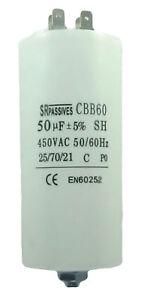 Condensateur-moteur-de-demarrage-permanent-50-F-50uF-450V-a-cosses-vis-CBB60