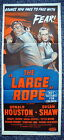 THE LARGE ROPE Rare Original 1950s Stone Litho Daybill Movie Poster Susan Shaw