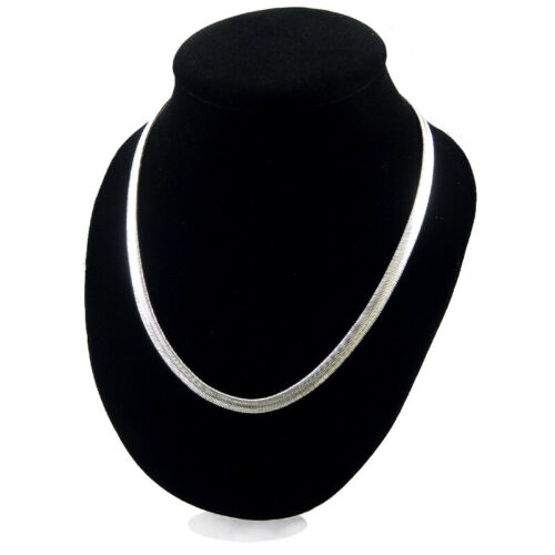 Snake Chain Necklace Flat Chains Stainless Steel Men Necklace Choker Jewelry Hot