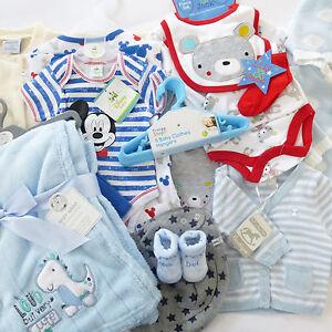 neuware erstausstattung jungen baby paket set kleidung strampler 50 56 62 68 ebay. Black Bedroom Furniture Sets. Home Design Ideas