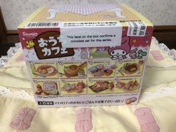 Re-ment Sanrio My Melody Casa Cafe Miniatura Figura Set Completo  10560 Completa