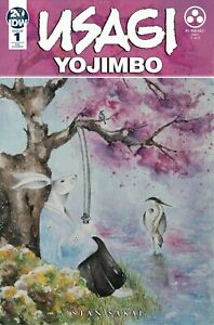 1:10 Retail Incentive Cover Daniel Warren Johnson IDW 2019 Usagi Yojimbo #1