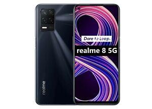 "Cellulare Smartphone Realme 8 5G Dual Sim 128GB+6GB 6,5"" Supersonic Black"